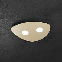 Plafoniera Top Light Shape Led Sabbia 1143/2 SA