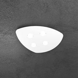 Plafoniera Top Light Shape Led Bianco 1143/4 BI