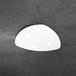 Plafoniera Top Light Shape Led Bianco 1143/5 BI