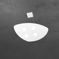 Sospensione Top Light Shape Led Bianco 1143/S4 BI