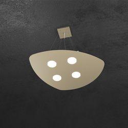 Sospensione Top Light Shape Led Sabbia 1143/S4 SA