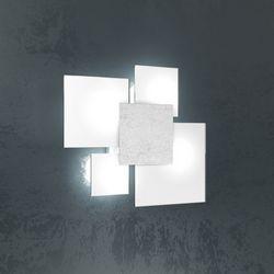 Plafoniera Top Light Upgrade Foglia Argento 1148/45 FA
