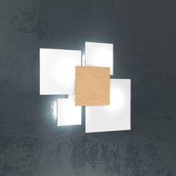 Plafoniera Top Light Upgrade Foglia Oro 1148/45 FO