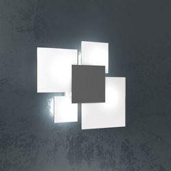 Plafoniera Top Light Upgrade Grigio Antico 1148/45 GA