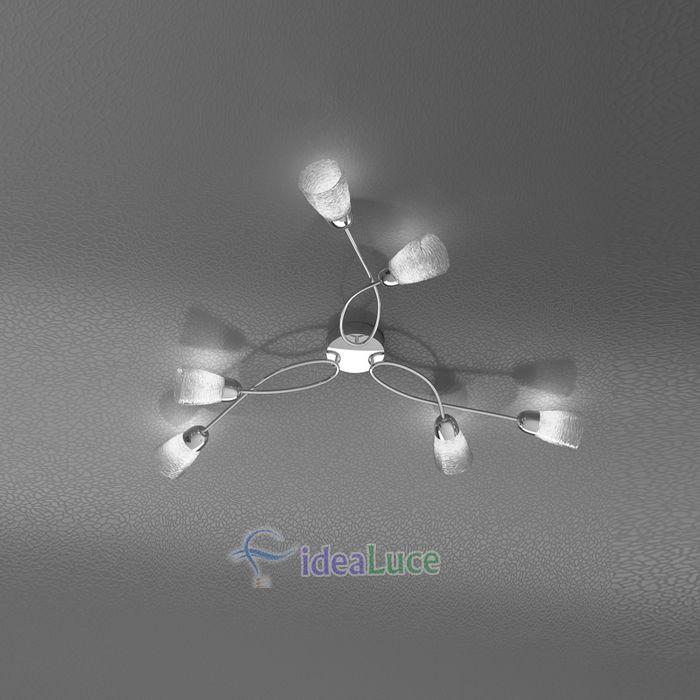 Plafoniera Top Light Feeling Net 1011/PL6 HT
