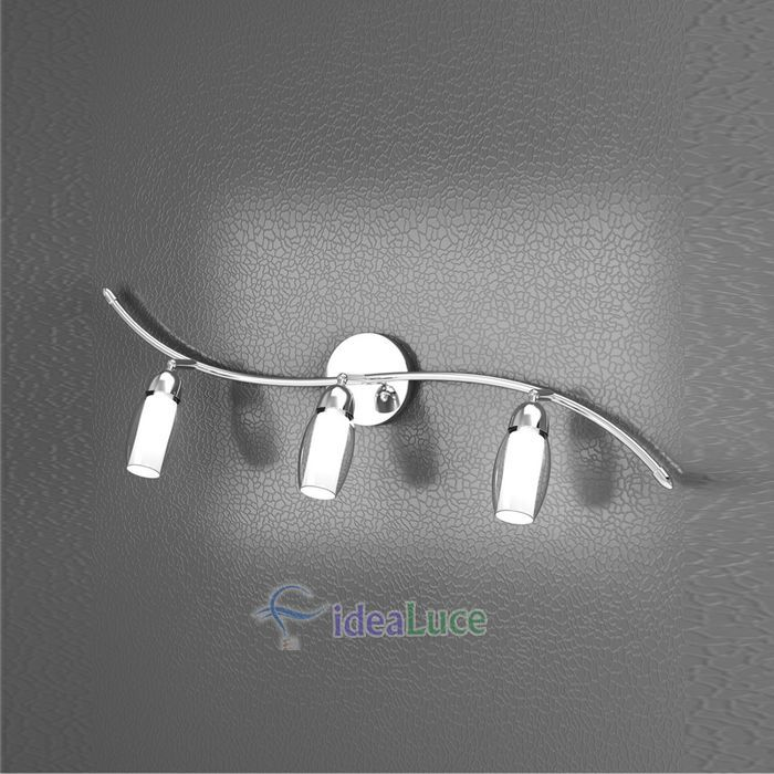 Lampada da Parete Applique Top Light Feeling Net 1011/F3 A