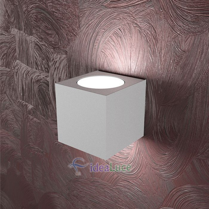 Lampada da Parete Top Light Area Led Grigia 1127/AG GR