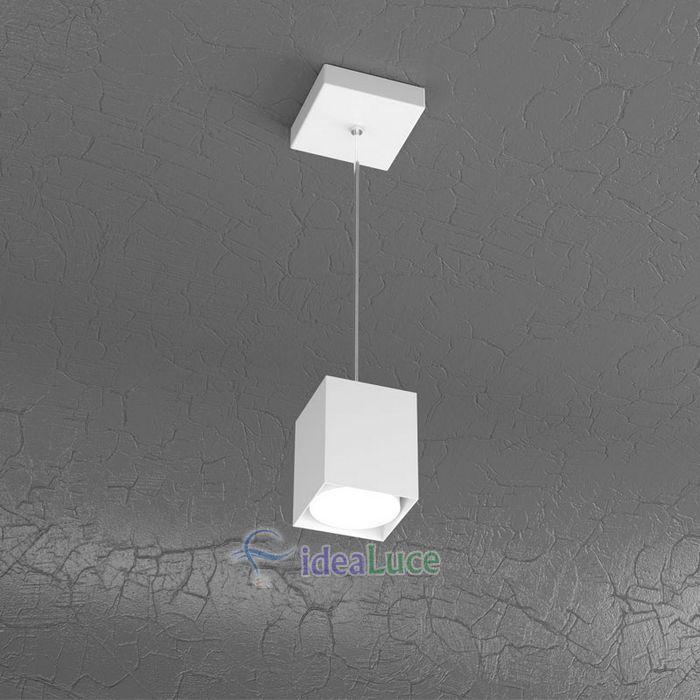 Sospensione Top Light Plate Led Bianco 1129/S10 BI