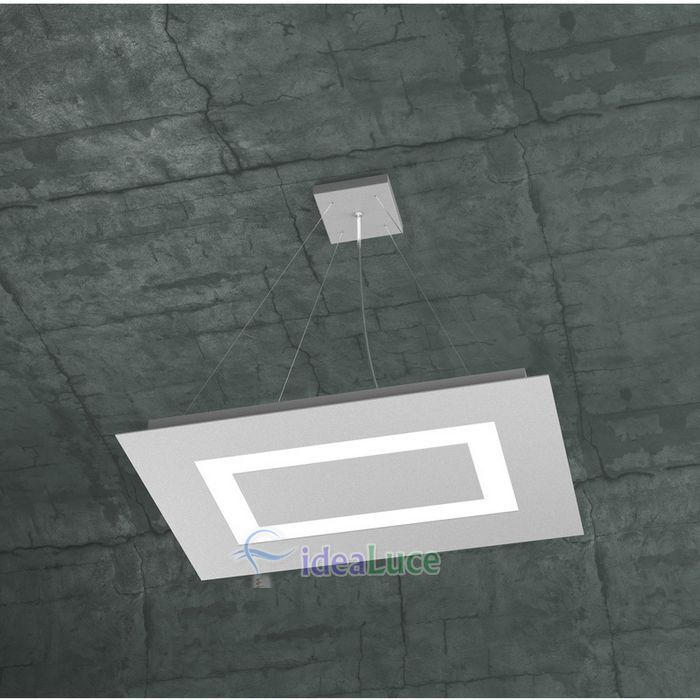 Sospensione Top Light Carpet Led Grigia 1137/SRP GR