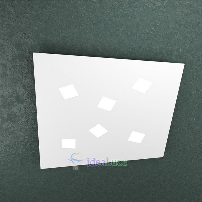 Plafoniera Top Light Note Led Bianca 1140/6 BI