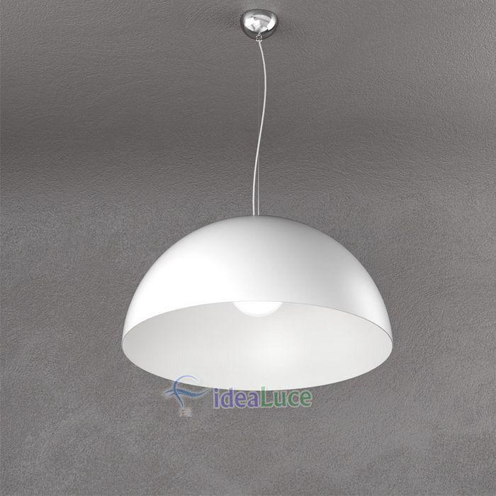 Sospensione Top Light Cup Bianco 1144/S50 BI