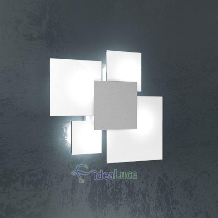 Plafoniera Top Light Upgrade Grigio 1148/45 GR
