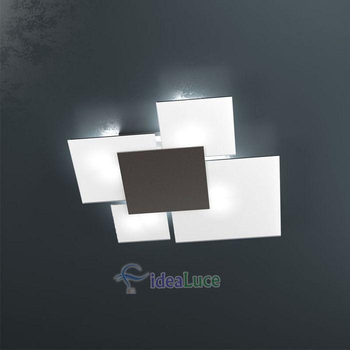 Plafoniera Top Light Upgrade Marrone 1148/70 MA